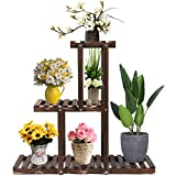 GEEBOBO 3 Tier Plant Stand,Large Multi Tiered Plant Shelf for Multiple...