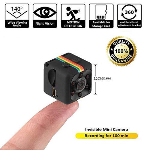 DYWLQ Mini Versteckte Kamera kit HD Camcorder Nachtsicht 1080 P Sport DV Kamera Video Recorder Infrarot Auto DVR Kamera Bewegungserkennung