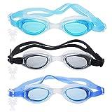 Anti-Fog Gafas de natación, Gafas de natación Unisex, Flexiseal...