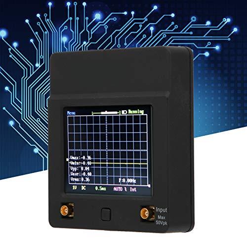 Mini osciloscopio, osciloscopio ABS fiable con pantalla a color, fábrica casera para el taller de la industria