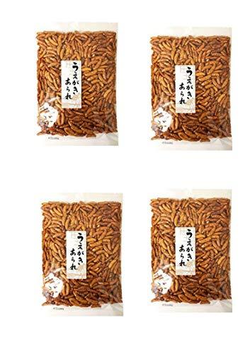 Japanese Uegaki Kaki No Tane Hot Rice Cracker 7.7oz (4 Pack)