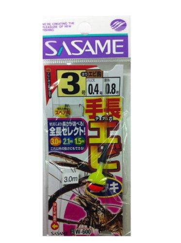 ささめ針(SASAME) W-600 手長エビ玉ウキ 3-0.4