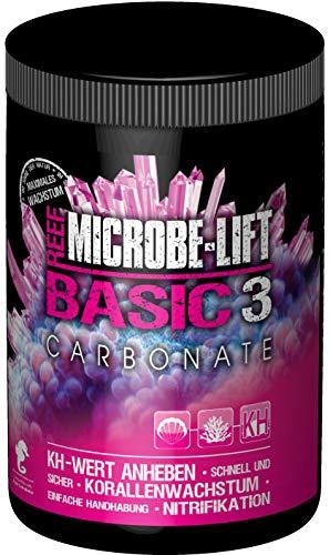 MICROBE-LIFT Basic 3 carbonaat - zeer zuiver carbonaat (KH) voor elk zeewater aquarium, zeer zuinig, 2000 g