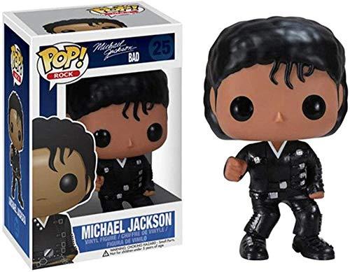 TYRIXEN Funko Pop Michael Jackson Vinyl Figure 10cm Art Souvenir Toy da Collezione Anime Puppet Statue-C