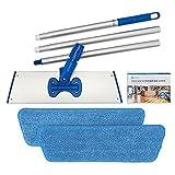 Best Wood Floor Mops - Cinch Mop - Microfiber Mop for Hardwood Floors Review