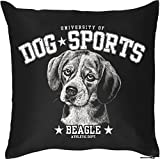 Kissenbezug Dog Sports Beagle Couchkissen Sofakissen Hundefreund Hundebesitzer für den Hund...