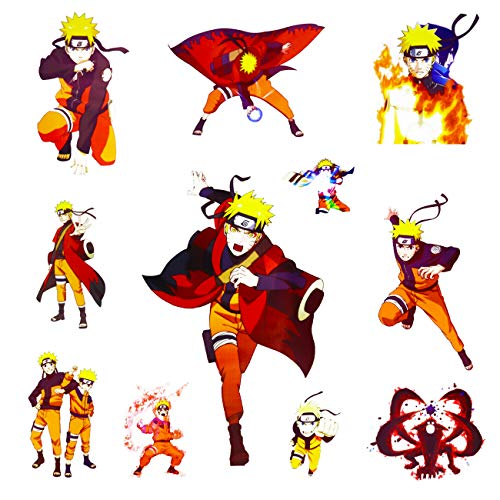 Naruto Wandaufkleber Anime Wandaufkleber für Wohnzimmer Schlafzimmer Wanddekoration 16 x 24