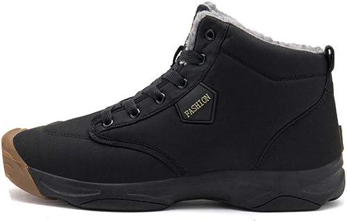 chaussures Grandes Chaussures De Coton D'Extérieur pour Hommes d'hiver, Chaussures De Couple, Ainsi Que des Chaussures De Sport Décontractées, Chaussures De Plein Air Antidérapantes Et Antidérapantes