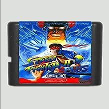 Linker Wish 16 Bit Sega MD Game Street Fighter II plus 16 bit MD Game Card For Sega Mega Drive For Genesis