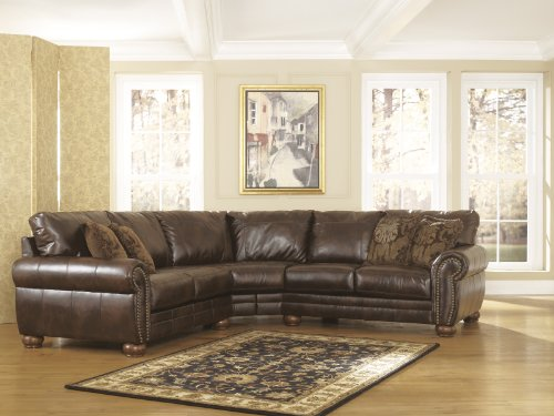Hot Sale Traditional Style Antique DuraBlend Match Upholstery 2 Pc Loveseat Sectional