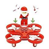 JJRC H67 Mini Drohne RC Quadcopter 2.4G 4CH 6 Axis Headless Mode One Key Return (Rot)