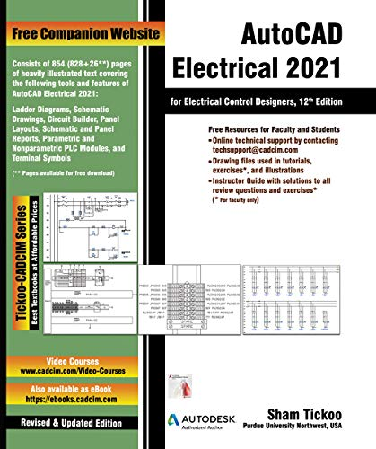 AutoCAD Electrical 2021 for Electrical Control Designers, 12th Edition (English Edition)