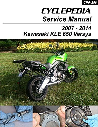 Kawasaki KLE650 Versys Service Manual (English Edition)