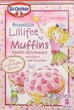 Dr. Oetker Prinzessin Lillifee Muffins Vanille-Geschmack, 3er Pack (3 x 397 g) -