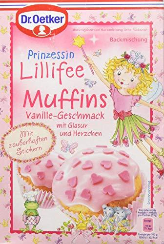 Dr. Oetker Prinzessin Lillifee Muffins Vanille-Geschmack (1 x 397 g)