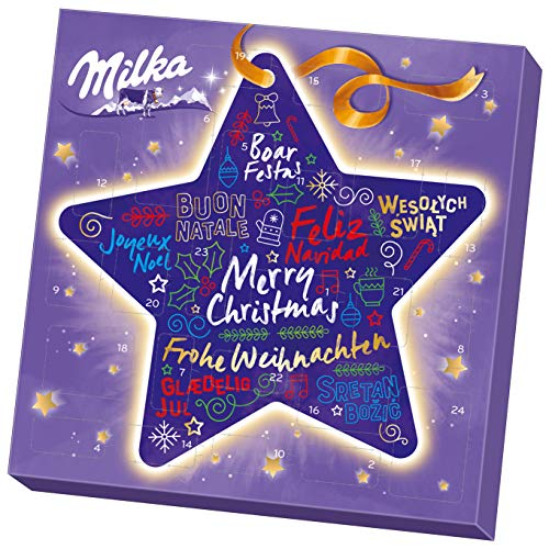 Milka Mix Calendario de Adviento, 219g