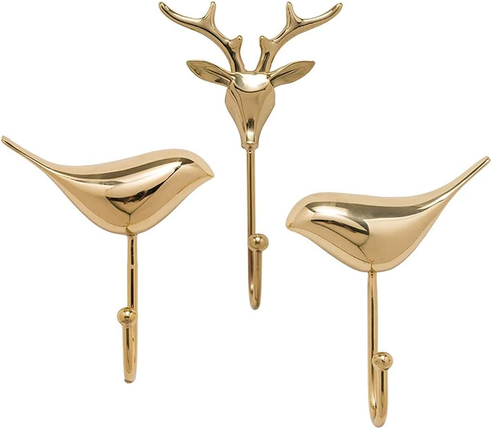 Sysyrqcer New item Wall-Mounted Coat Rack Wall-Mounte Copper Luxury Ranking TOP17 Light