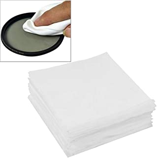 ZHANGYOUDE Phone Parts 100 PCS 9.8 x 9.8cm Specialized LCD Screen Lens Glasses Cleaning Cloth for Camera/Mobile Phone