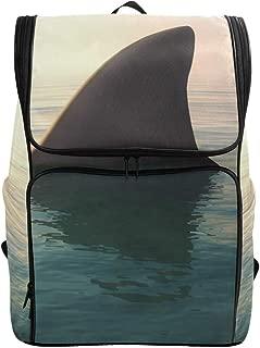 for Student College Girls Boys Woman Men Travel Hiking Camping Laptop Casual Daypack School Bags Rucksack Ocean Sea Shark Marine Bulldog Computer Backpack