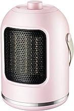 NFJ-LYR Calefactor Ventilador,Protección sobrecalentamiento,Ventiladores bajo Consumo,Calefactor bajo Consumo electrico,2 Modos,Calefactor Portátil,Termostato Regulable