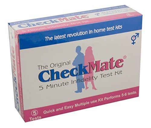 Check Mate Infidelity Test Kit - 10 Tests - Check your spouse, boyfriend, girlfriend, partner.
