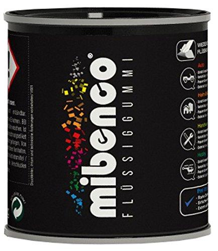 mibenco 72829010 Flüssiggummi Pur, 175 g, Weiß Matt - Schutz und Isolation zum Tauchen und Pinseln