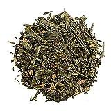 Aromas de Té - Verde Canela Antioxidante Exótico Dulce se puede tomar Frío o Caliente Mejora la Salud Cardiovascular/Té verde Sencha con Canela, 100 gr