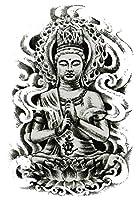(ファンタジー) THE FANTASY タトゥーシール 仏さま 菩薩 如来 Buddha-3【中型・A5】 (hb097)
