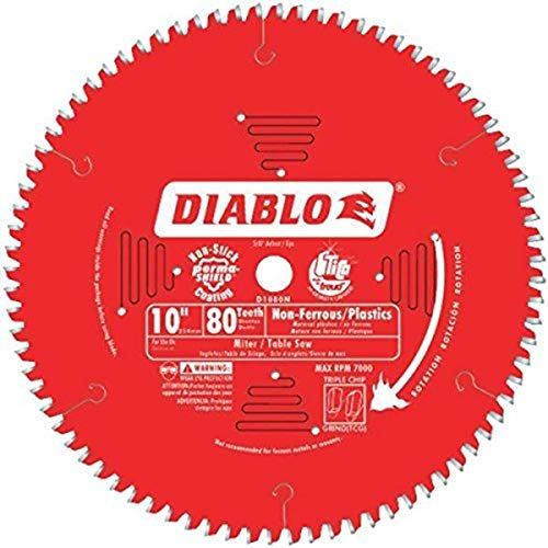 Diablo D1080N Non-Ferrous Metal & Plastic Cutting Saw Blade