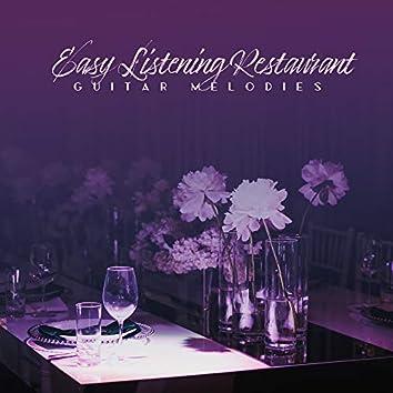 Easy Listening Restaurant Guitar Melodies