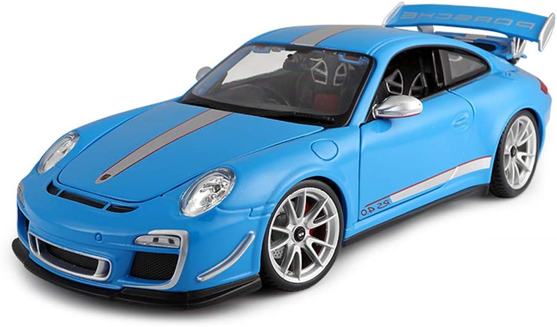 barato y de moda LBYMYB Modelo de Coche 1 18 Porsche Porsche Porsche 911GT3-RS Simulación de aleación de fundición de Juguetes Adornos colección de Coches Deportivos joyería 25x10.7x7CM  la mejor selección de