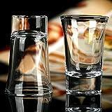 Sawan Shopping Mart Clay Shot Glass - 6 Pieces, Transparent, 30 ml