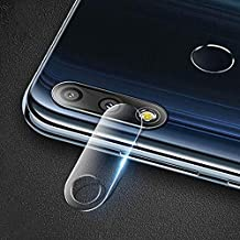 HAIJUN Phone Screen Film 0.3mm 2.5D Transparent Rear Camera Lens Protector Tempered Glass Film for Asus Zenfone Max Pro (M2) ZB631KL Anti-Scratch Tempered Glass