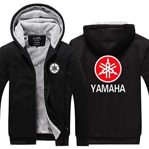 Outwear Unisex Hoodie Jacke - Yamaha Suzuki Printed Warm-Strickjacke-Mantel - Zip-Baseball-Uniform Splicing Langarm-Pullover-Teen-Geschenk R-XXXL