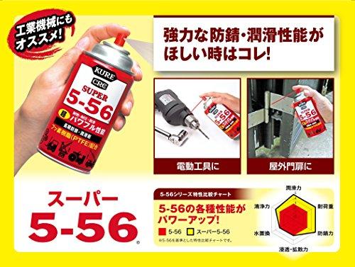 呉工業 5-56 KURE スーパー5-56(クレ556) 70ml