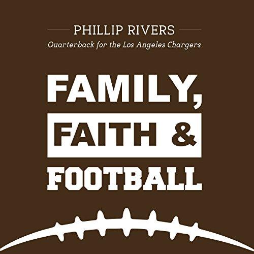 Family, Faith and Football audiobook cover art