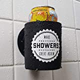 Make Showers Great Again - Shower Beer Holder for in Shower Use, Keeps Beer Cold and Hands Free
