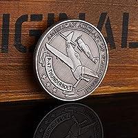 ムーシー第二次世界大戦アメリカのP-47ライトニングファイター記念コインメダル外国軍の記章軍事ファンメダルコレクションオーディアン