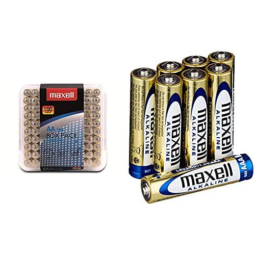 Maxell Alkaline LR6 AA Mignon Batterie...