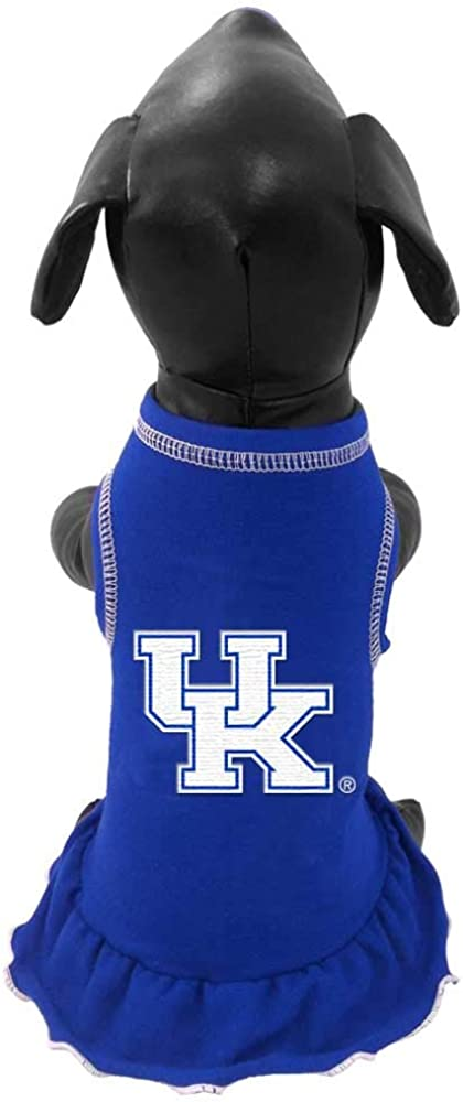 Max 90% OFF NCAA Kentucky Super popular specialty store Wildcats Dog Dress Cheerleader
