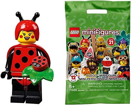 Lego 71029 Minifiguras coleccionables serie 21 - Mariquita chica