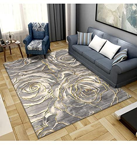 AU-OZNER goedkoop tapijt Lichtgeel tapijt, gemakkelijk te reinigen de anti-aangroeiend modieuze tapijt tapijt tapijt antislip -Bleke yellow_180x280cm