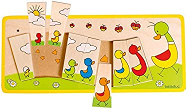 Beleduc Matching Duck Family Jigsaw Puzzle (8 Piece)