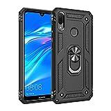 Coque Huawei Y7 2019/Y7 prime 2019, étui Protection TPU Souple Durable avec Support de 360°...