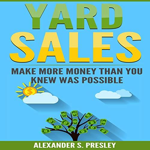 Yard Sales audiobook cover art