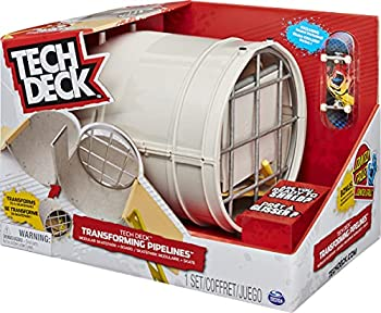 TECH DECK Transforming Pipelines Modular Skatepark Playset and Exclusive Fingerboard