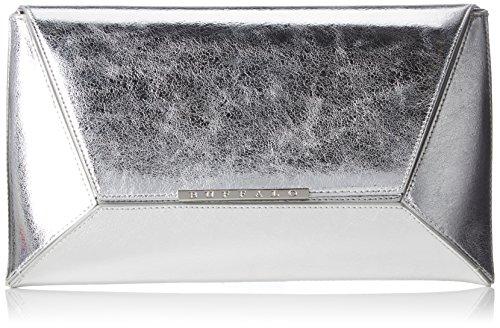 Buffalo Damen 4101030 Clutch, Silber (Silber (Silver), 1.0x17.0x30.0 cm