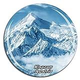 Weekino Kitzsteinhorn Kaprun Österreich Kühlschrankmagnet 3D Kristallglas Tourist City Travel Souvenir Collection Geschenk Strong Refrigerator Sticker