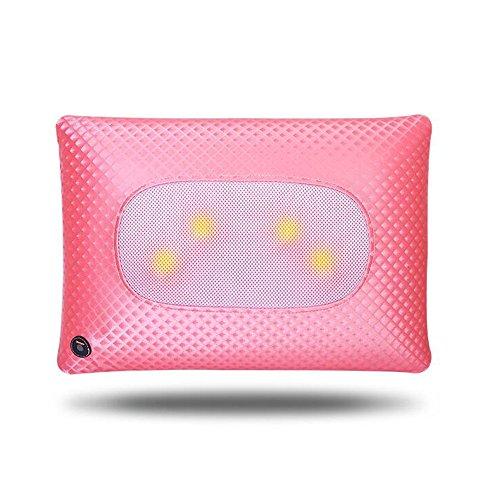 FEI Meilleur massage à la maison Home Pillow Massage Massage multifonctionnel Pillow massage utilisation pratique (Couleur : Rose)