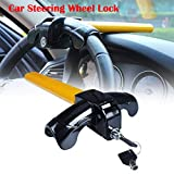 EFORCAR 1 PCS Universal Anti-Theft Car Auto Security Rotary Steering...